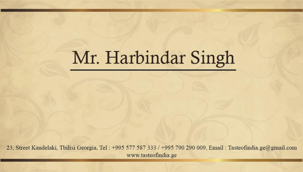 Business Card Design Back
